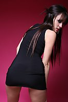 Slim Non Nude Teen Model Tight Dress - Picture 2