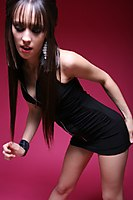 Slim Non Nude Teen Model Tight Dress - Picture 7